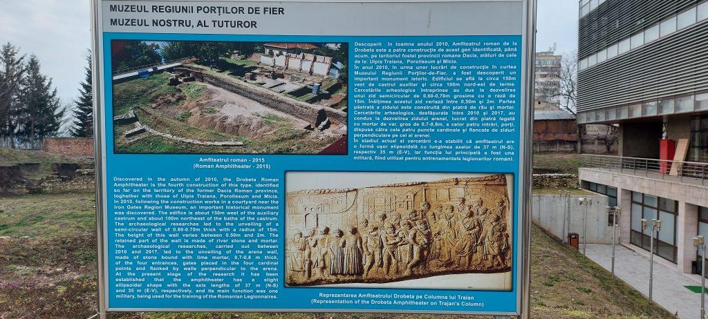 Amfiteatrul Roman de la Drobeta