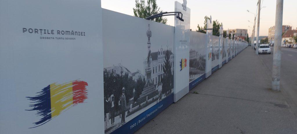 Expoziție Stradala - Porțile României - Drobeta Turnu Severin - Imagini vechi