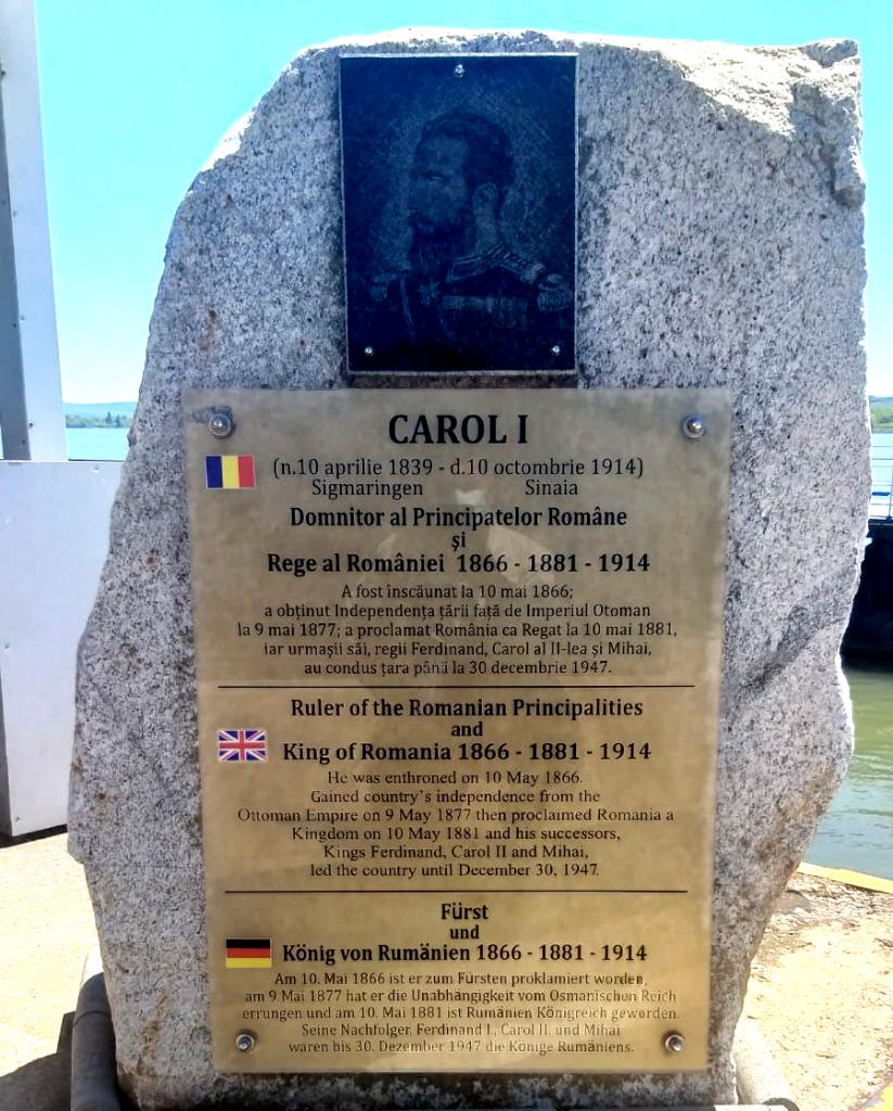 Monument Carol I Portul Drobeta Turnu Severin