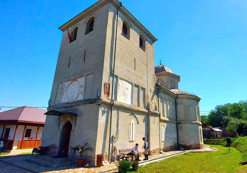 Mănăstirea Cerneți, Șimian, Mehedinți.